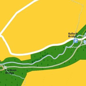 Balloch Wood - Pond Trail map